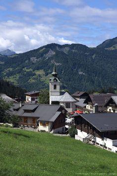 France, Alps, Haute Savoie, Notre Dame de Bellecombe