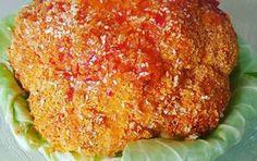 מתכון לכרובית בתנור בציפוי פירורי לחם קריספי. כרובית שלמה אפויה בתנור מוגשת עם רוטב צ'ילי או טחינה. מתכון קל ב-10 דקות בלבד!