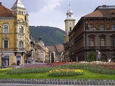 pictures of brasov romania | Downtown Brasov, Romania