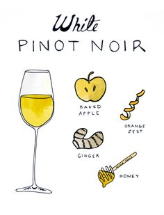 Did not know there was a white Pinot Noir. I've had White Zinfandel and White Merlot. And they were delish!
