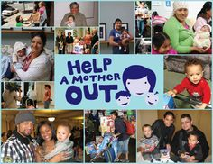 Babies need diapers. Help a Mother Out This Mother's Day – April 16 – May13