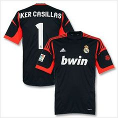 b3332ed4f7b Youth Kids 2012 13 Real Madrid Casillas 1 GK Away Soccer Jersey and Shorts  Set