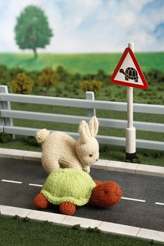 Ravelry: The Tortoise and the Hare by Sachiyo Ishii Hare, Ravelry, Fairy Tales, Knitting, Crochet, Knits, Pattern, Turtle, Tricot