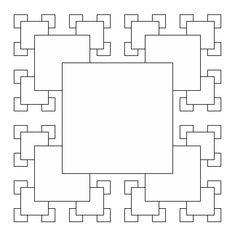 Geometric Drawing, Geometric Art, What Are Fractals, Principals Of Design, Module Design, Square Deal, Fractal Geometry, Fractal Design, Cgi