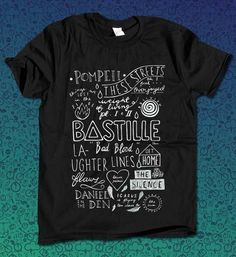 Bastille  for T Shirt Mens and T Shirt Girls by provaganda on Etsy