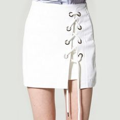 Storets Lace-Up Skirt