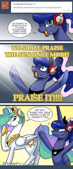 "Ask Gaming Princess Luna 039 ""YOU BETTER PRAISE IT!"" ~ AGPL"