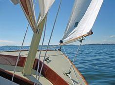 The Paine 14 – A Herreshoff – inspired daysailor – Chuck Paine Yacht Design LLC Spirit Yachts, Yacht Design, Wooden Boats, Sailboat, Note, Inspired, Wood Boats, Sailing Boat, Sailboats