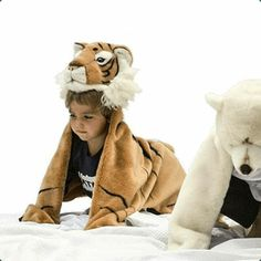 Tiger Costume Wild & Soft Children- A large selection of Toys and Hobbies on Smallable, the Family Concept Store - More than 600 brands. Fancy Dress Diy, Tiger Costume, Childrens Fancy Dress, Animal Rug, Moda Blog, Pet Tiger, Dress Up Costumes, Costume Ideas, Animal Costumes