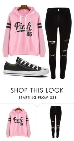 Outfit #11 by unicornicamitha on Polyvore featuring River Island and Converse
