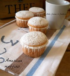 American muffins.Ricetta base