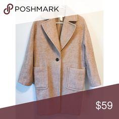 H&M wool coat size:4 H&M wool coat, good condition, 32% wool H&M Jackets & Coats Pea Coats