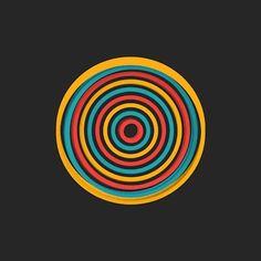 Fique 'hipnotizado' por esses incríveis GIFs de movimentos geométricos