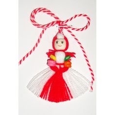 Baba Marta, Yarn Dolls, Hand Embroidery Flowers, Crochet Bebe, Crochet Clothes, Projects To Try, Creations, Arts And Crafts, Christmas Ornaments