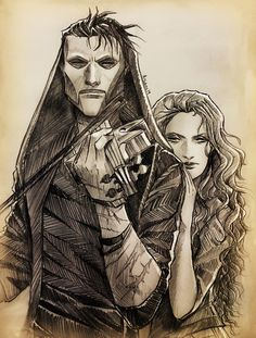 """ilustrariane: """" """"The Raven and The Dove"""" modern day Erik x Christine (tried a blonde Christine this time), just becauseeee could it be inspired somehow by wheel-of-fish Out of The Woods? Kintsugi, Fantom Of The Opera, Pixar, Opera Ghost, Gaston Leroux, Music Of The Night, Phantom 3, Love Never Dies, Musical Theatre"""