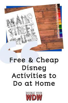 This is a complete resource for fun Disney World activities you can do for free at home. If you can't be at the parks bring them home to you #freedisney #freedisneyworld #waltdisneyworld #disneyworld #disneyvacation #disneyathome #disneybaby #disneyfamily #disneypodcast #disneyyoutube #disneyvideos #disneyprintable Disney World Parks, Disney World Vacation, Disney World Resorts, Disney Vacations, Disney Trips, Disney Vacation Planning, Disney World Planning, Disney Pop, Disney Travel