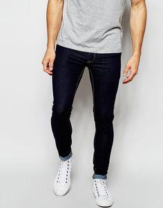 ASOS Extreme Super Skinny Jeans In Indigo