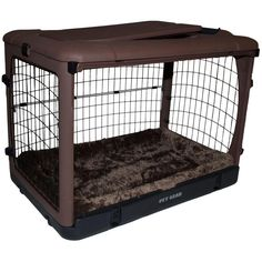 Love Pet Gear The Other Door 36.5 in. L x 24.5 in. W x 27.5 in. H Steel Crate with Pad in Chocolate *** You can find more details by visiting the image link. (This is an affiliate link and I receive a commission for the sales) #PetDogs
