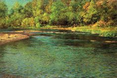Le Prince Lointain: John Ottis Adams (1851-1927), Iridescence of a Sha...