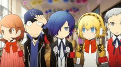 """vhazzrhossze: """""""" Persona Q - Arisato Hamuko ( with S. because i'm disappoint. :T about FemMc not being in persona releases. Persona Crossover, Persona Q, Edition Collector, Shin Megami Tensei Persona, First Animation, Video Game Art, Video Games, Story Characters, Manga"""