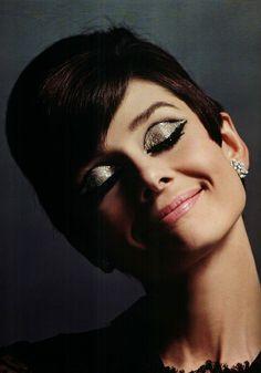 missingaudrey: Audrey Hepburn photographed by Douglas Kirkland, at the Studio de Bolougne, Paris, during the making of How to Steal a Million, November 1965.