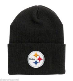 Pittsburgh Steelers Black Cuffed Knit Hat #Pittsburgh Steelers Visit our website for more: www.thesportszoneri.com