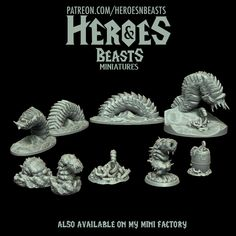 i got worms!! never thought i would be happy to say that . #dungeonsanddragons #rpg #d20 #roleplay #nerd #geek #dice #dnd5e #roleplayinggame #tabletopgames #dungeonmaster #gaming #tabletopgaming #fantasy #wargames #gamesworkshop #warhammer #warhammer40k #miniature #coolminis #minipainting #miniatures #dnd #patreon #art #supportlivingartists #dnd #minianturednd # dndminis #3dprint #zbrush Tabletop Rpg, Tabletop Games, Dungeons And Dragons Characters, Because I Love You, D 20, Mini S, Mini Paintings, Nerd Geek, Zbrush
