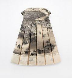 Elisabeth Lecourt - Les robes géographiques