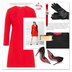 """""""City Slickers : Patent Leather"""" by dragananovcic ❤ liked on Polyvore featuring Valentino, Givenchy, Bomedo, Christian Louboutin, Balmain, Lanvin and Franck Muller"""