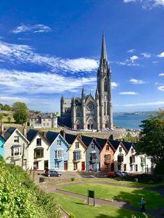 Colman's Catholic Church Cobh, Ireland County Cork Deck of Cards Cobh Ireland, County Cork Ireland, Ireland Vacation, Ireland Travel, Irish Catholic, Catholic Churches, Ireland Landscape, Paris Travel, Culture Travel