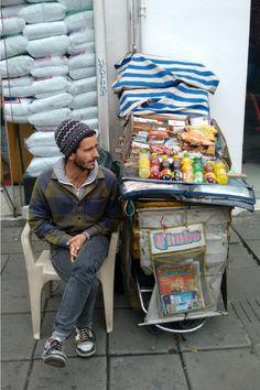 Ser vendedor ambulante es tan jodido como parece