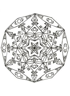 Free Coloring Page Mandalas To Download For 16