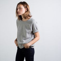 The Raglan Short Sleeve Light Grey – Everlane  $30.00