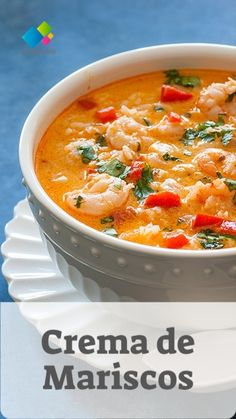 Seafood Dishes, Fish And Seafood, Seafood Recipes, Mexican Food Recipes, Healthy Recipes, Ethnic Recipes, Colombian Food, Exotic Food, Curry