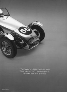 Caterham Super 7, Caterham Seven, Lotus Sports Car, Lotus 7, Automotive Art, Cars And Motorcycles, Vintage Cars, Dream Cars, Classic Cars