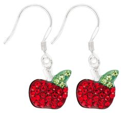 Bijou Brigitte Drop earrings - Apple