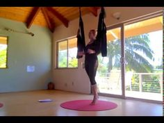 Aerial Yoga Play Maui Training 2_9_16: Advanced 5.4 - YouTube