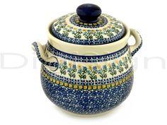 Polish pottery tureen.