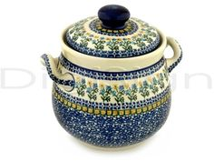 Polish pottery tureen.
