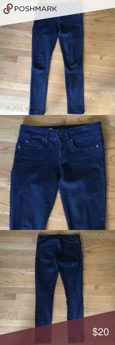 "👖GAP 1969 Blue Curvy Skinny Jeans 👖GAP 1969 Blue Curvy Skinny Jeans.  Dark blue wash cotton/elastane blend Denim material.   Waist 30"".  Inseam length 30-1/2"".  Rise 8"".  Excellent condition. GAP Jeans Skinny"