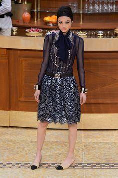 Chanel at Paris Fashion Week Fall 2015 - StyleBistro