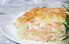Lasagne di Patate e Salmone