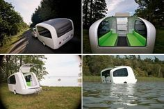 Sealander: It's a Camper … It's a Boat … It's Both!  This is awesome!!
