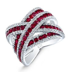 Family owned since Levy's Fine Jewelry has a wide selection of vintage, antique and one-of-a-kind modern jewelry and engagement rings. Red Jewelry, High Jewelry, Jewelry Art, Jewelry Necklaces, Jewelry Design, Jewellery, Jewelry Ideas, Jewelry Gifts, Ruby Diamond Rings