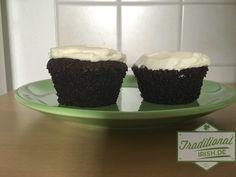 Mmmmh sind diese Muffins mit Guinness und süßen Topping lecker! Unbedingt ausprobieren!