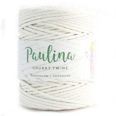Chunky Twine mand met leren hengsels | Gratis haakpatronen | Huisje van Katoen Twine, Crochet, Crafts, Diy, Design, Basket, Leather, Crochet Hooks, Bricolage