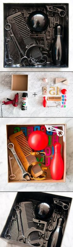 BRINGING THE ART AT HOME:DIY SHADOW BOXES