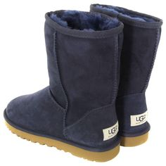 Ugg Classic Short Navy Boots at stores