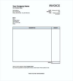 printable blank invoice templates blank invoice template pdf why