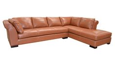 This couch looks comfortable for several people and the color would lighten up the living room with a soothing pop of color